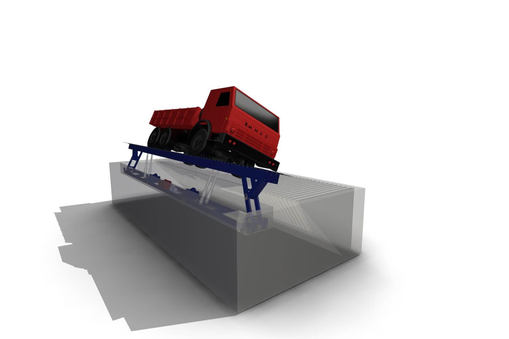 Боковой одноколейный разгрузчик автомобилей БОРА схемы винтовых конвейеров